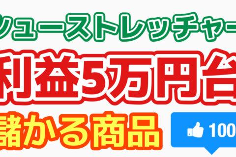 【儲かる商品】 シューストレッチャー 利益51,570円